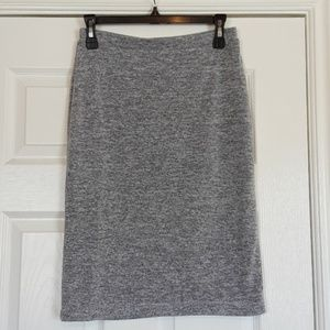 Super Soft Knit Pencil Skirt (Fully Lined)